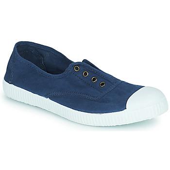 Chaussures Baskets basses Victoria INGLESA ELASTICO TINTADA marino