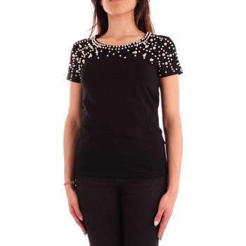 Vêtements Femme T-shirts manches courtes Mangano OSA T-SHIRT MC Femme Noir