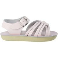 Chaussures Fille Sandales et Nu-pieds Salt Water Sandales bébé cuir uni Strap Wee Rose