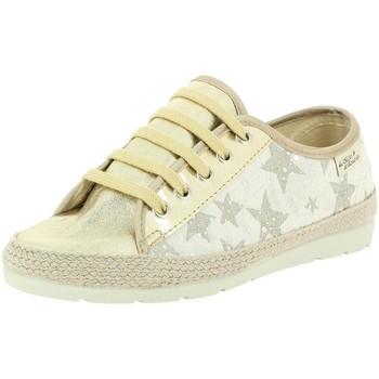 Chaussures Femme Baskets basses La Maison De L'espadrille 3722 or