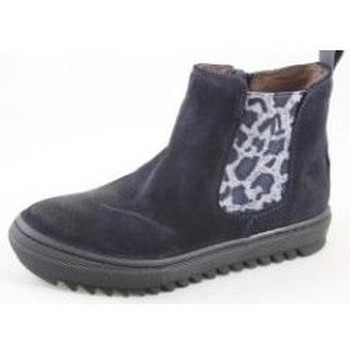 Chaussures Fille Bottines Bana And Co Boots fille  Blue bleu