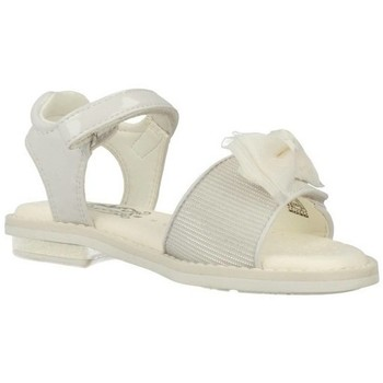 Chaussures Fille Baskets mode Geox Sandales J S. Giglio A Blanc Blanc