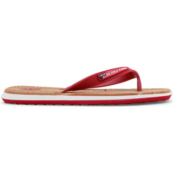 Chaussures Femme Tongs Buzzao Tongs rouges homme U.S. Polo Rouge