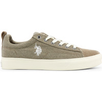 Chaussures Femme Baskets basses Buzzao Baskets taupe pour homme U.S. Polo Vert