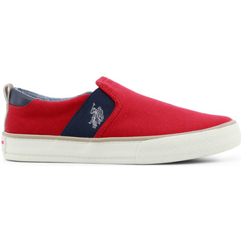 Chaussures Femme Slips on Buzzao Baskets rouge pour homme U.S. Polo Rouge