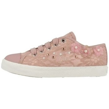Chaussures Fille Baskets basses Geox Basket J Ciak G.F Rose Rose