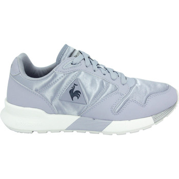 Chaussures Femme Baskets basses Le Coq Sportif OMEGA X WOMEN SATIN Chaussure Mode Sneakers Femme bleu