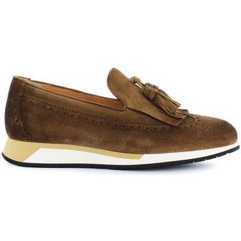 Chaussures Homme Mocassins Santoni Mocassin à Glands Brown