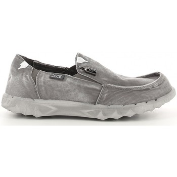 Chaussures Homme Chaussures bateau Hey Dude FARTY WASHED Gris