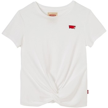 Vêtements Fille T-shirts manches courtes Levi's SS TEE DEBBY WHITE Blanc