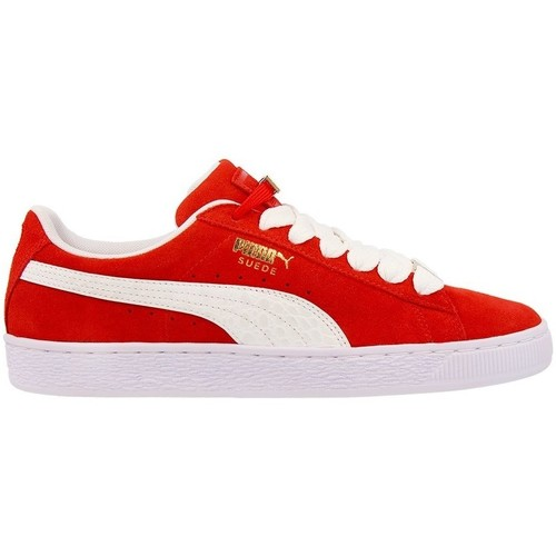 Puma Suede Classic Bboy Fabulous Flame S Rouge - Chaussures Baskets basses Homme