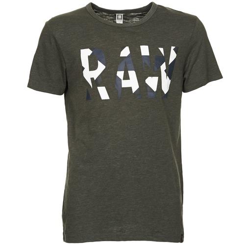 Vêtements Homme T-shirts manches courtes G-Star Raw MOIRIC R T S/S Kaki