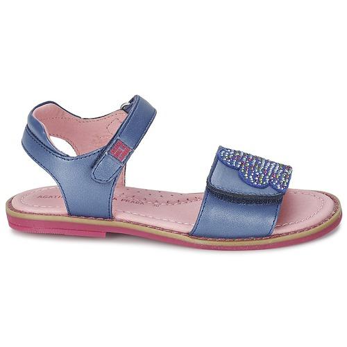 Chaussures Miss Nu Et pieds Prada Ponza Sandales Ruiz Agatha Bleu Fille De La by76gf