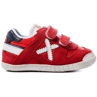Chaussures Baskets basses Munich Fashion BABY GOAL VCO Rouge