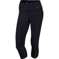 Vêtements Femme Pantacourts Nike Legend 2.0 Tight Capri Black / Black
