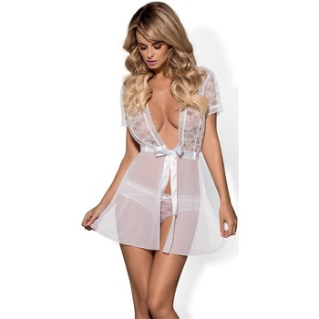 Vêtements Femme Pyjamas / Chemises de nuit Obsessive L'ensemble sexy model 64793 blanc