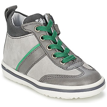 Chaussures Enfant Baskets montantes Acebo's ABARNE Gris
