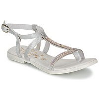Chaussures Fille Sandales et Nu-pieds Acebo's MADALEN Argent