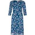 Anastasia - Robe droite � fleurs pour femmes, vert