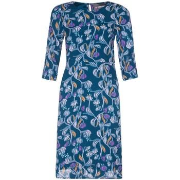 Vêtements Femme Robes courtes Anastasia - Robe droite � fleurs pour femmes, vert Green