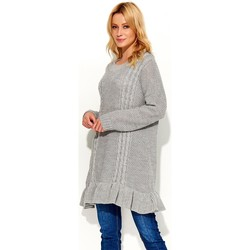 Vêtements Femme Pulls Makadamia Chandail model 103190 gris