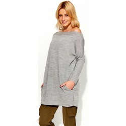 Vêtements Femme Pulls Makadamia Chandail model 103194 gris