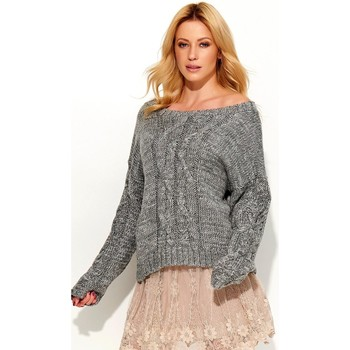 Vêtements Femme Pulls Makadamia Chandail model 103196 gris