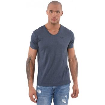 Vêtements Homme T-shirts manches courtes Kaporal T-Shirt Homme Salva Bleu Marine 19