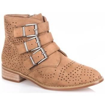 Chaussures Femme Boots Vanessa Wu BT 1675 CM Camel