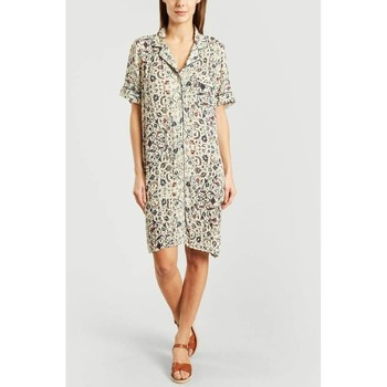 Vêtements Femme Robes Leonie Robe Jackie 58214 Femme Collection Printemps Eté Ecru