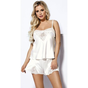 Vêtements Femme Robes courtes Dkaren L'ensemble model 103785 blanc