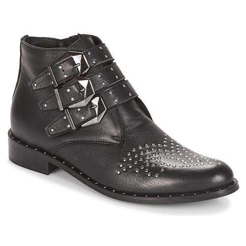 Elucy Boots Chaussures Noir Femme Lemon Sweet stCBQrdxh