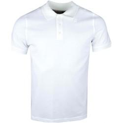 Vêtements Homme Polos manches courtes K-Way Polo  blanc crème pour homme Blanc