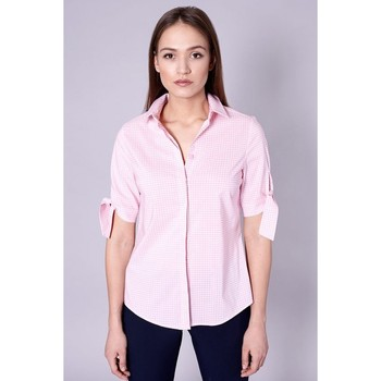 Vêtements Femme Chemises / Chemisiers Click Fashion Shirt model 109188 Rózsaszín