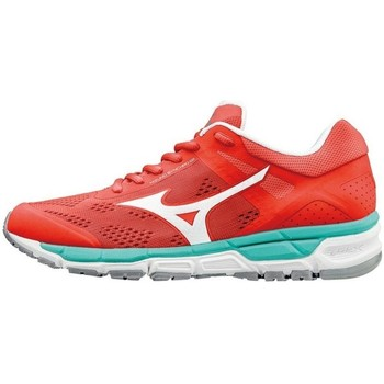Chaussures Femme Baskets basses Mizuno Wave Synchro MX 2W Rouge