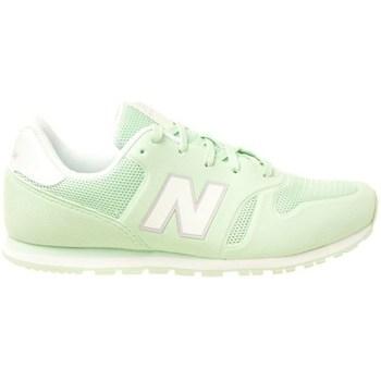 Chaussures Enfant Baskets basses New Balance 373 Vert clair