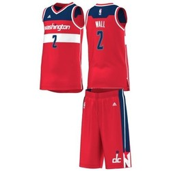 Vêtements Enfant Ensembles enfant adidas Originals Maillot et Short NBA John Wall Whashington Wizards pour enfant 594