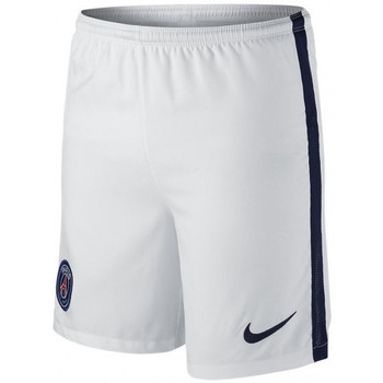 Vêtements Garçon Shorts / Bermudas Nike Short  Enfant Cadet PSG Stadium Home/Away - 659095-105 Blanc