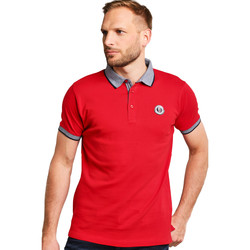 Vêtements Femme Polos manches courtes Biaggio Polo HOMME - PORELO_RED Rouge