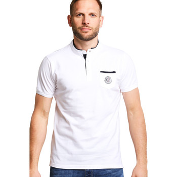 Vêtements Femme Polos manches courtes Biaggio Polo HOMME - PAMIRO_BLANC Blanc