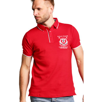 Vêtements Femme Polos manches courtes Biaggio Polo HOMME - PITELO_RED Rouge