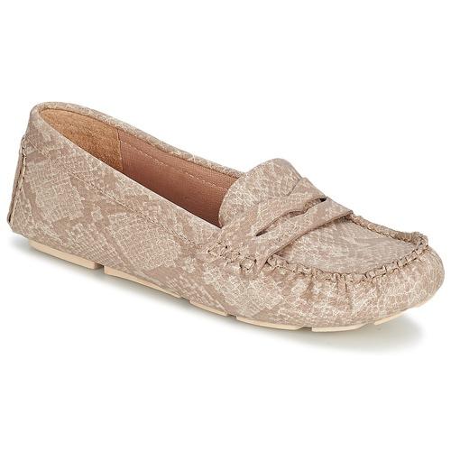Chaussures Femme Mocassins Esprit NOIR LOAFER Beige