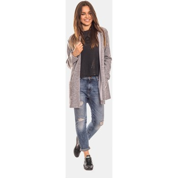 Vêtements Femme Gilets / Cardigans Bien Fashion Cardigan model 112245 Gris