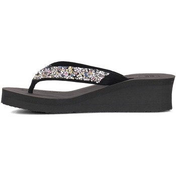 Chaussures Femme Tongs Gioseppo 43277 Noir-Argent