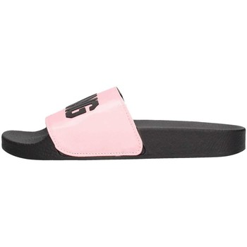 Chaussures Femme Mules The White Brand L-0147 Pantoufle Femme Rose Rose