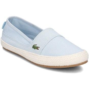 Chaussures Femme Espadrilles Lacoste Marice Bleu
