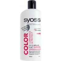 Beauté Femme Shampooings Syoss - Après-Shampooing Color Luminance & Protect - 500ml Autres