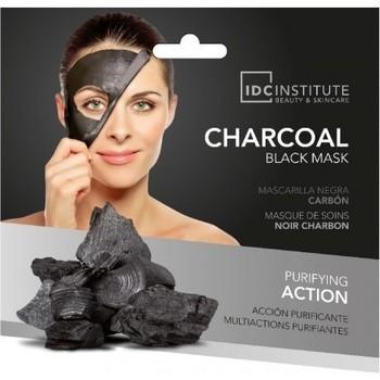 Beauté Femme Masques & gommages Aquarius Cosmetic IDC Institute - Masque tissu au charbon noir - 22g Autres