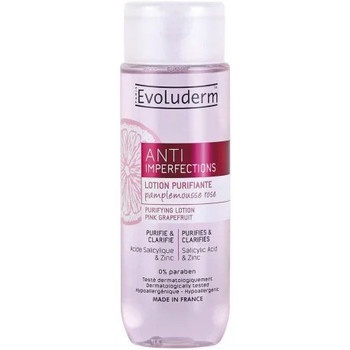 Beauté Femme Démaquillants & Nettoyants Evoluderm - Lotion Purifiante Anti-Imperfections Au Pamplemousse Rose - 2 Rose