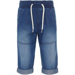 Vêtements Garçon Shorts / Bermudas Name It Kids NMMRYAN DNMBERN 1052 LONG SHORTS Bleu